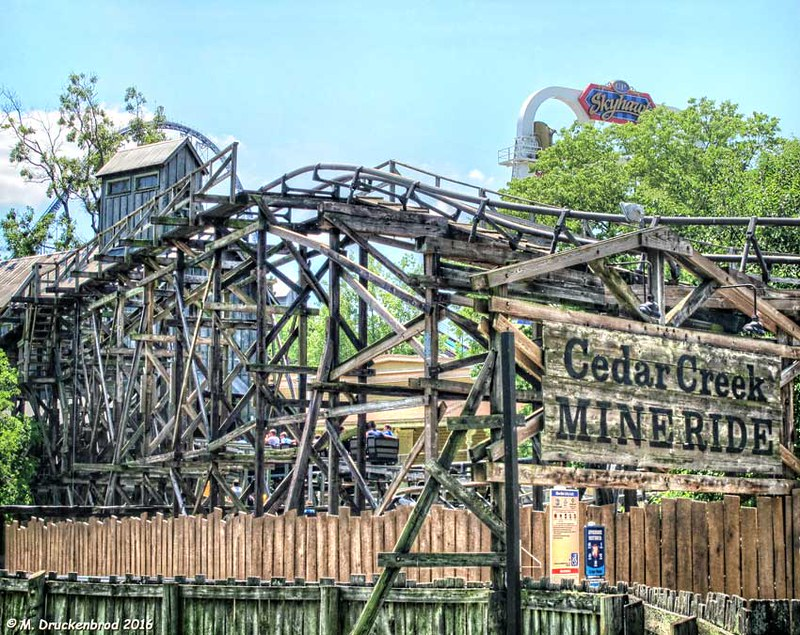 Cedar Creek Mine Ride, Cedar Point