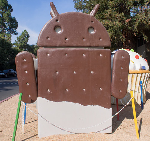 2016/11/05 (土) - 11:59 - Ice Cream Sandwich ー Google Merchandise Store