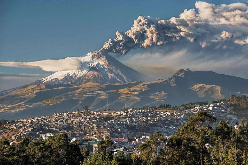 Cotopaxi volcano eruption (Explored)