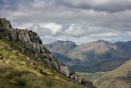 The Scafells from the way up Grey Friar | by johnkaysleftleg