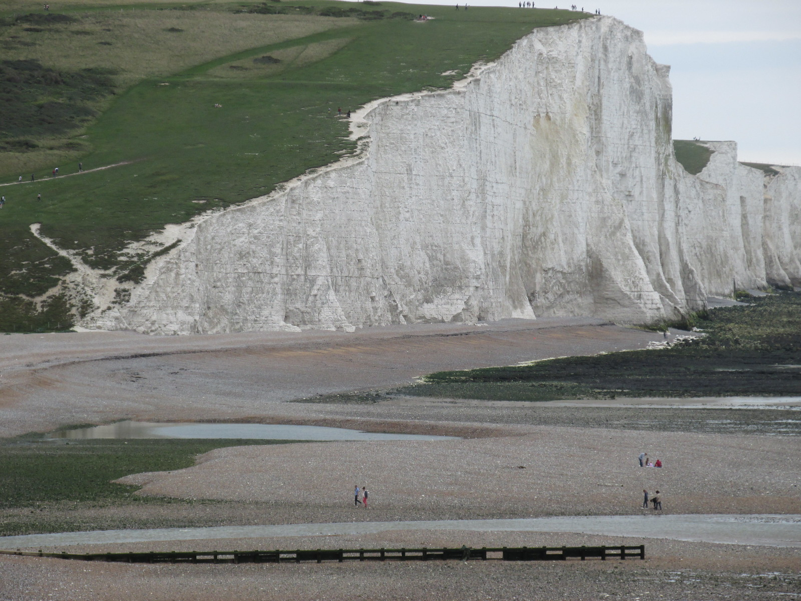 August 29, 2015: Lewes to Seaford Cuckmere Haven