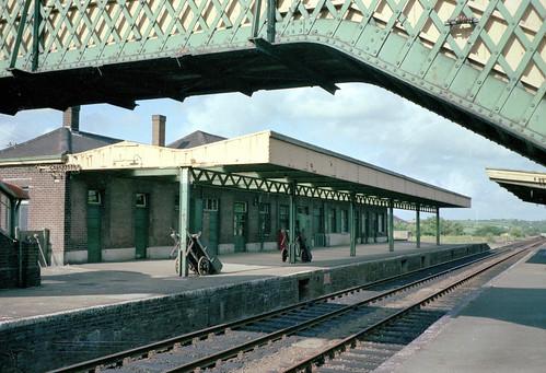 Okehampton station (1), 1975 | by Blue-pelican-railway