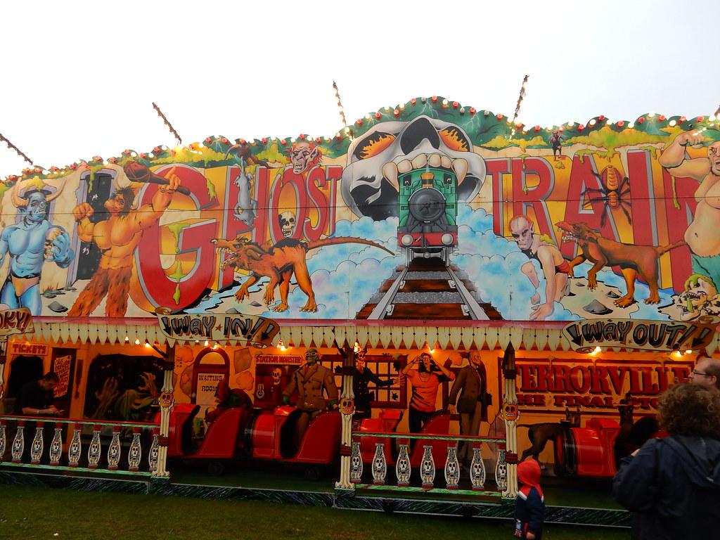 Ghost Train Carters Steam Fair F1jherbert Flickr