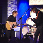 Fri, 04/09/2015 - 7:39pm - James Maddock with an audience of WFUV Members at City Winery in New York City, 9/2/15. Hosted by Carmel Holt. Photo by Gus Philippas