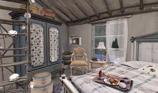 Farmhouse Bedroom_Armoire   by Hidden Gems in Second Life (Interior Designer)