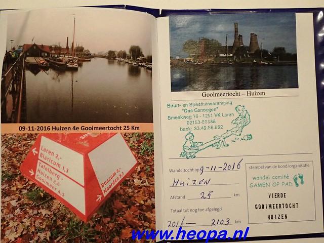 2016-11-09  Gooimeer tocht   25 KM   (165)