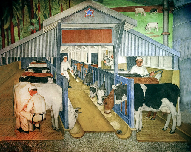 California Agriculture and Industry, Coit Tower murals