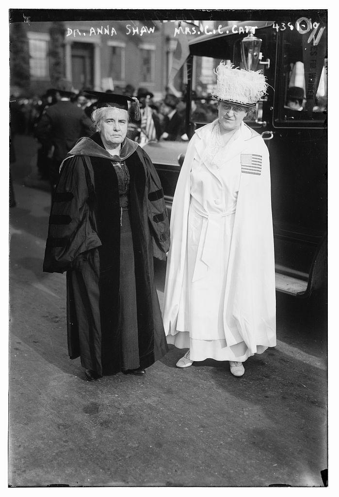 Dr. Anna Shaw, Mrs. C.C. Catt (LOC)