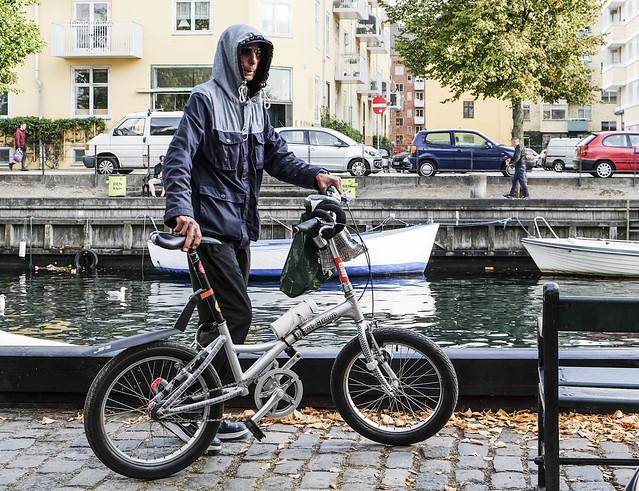 Worldwide Photowalk Copenhagen 2016 - The biking hoodieman