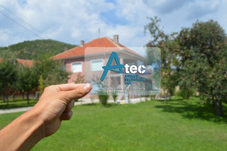 Atec transparent bussines card | by Egzon Mustafi