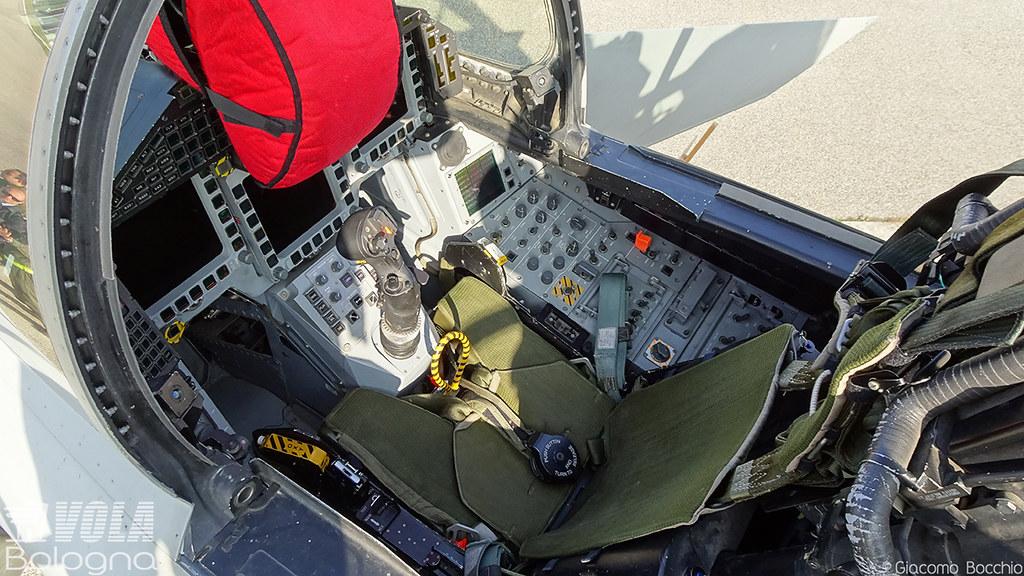 Cockpit-Italian Air Force Eurofighter EF-2000 Typhoon S [M