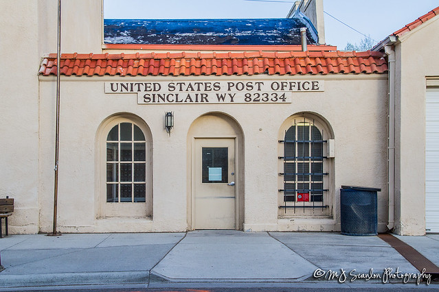 US Post Office | Sinclair, Wyoming 82334