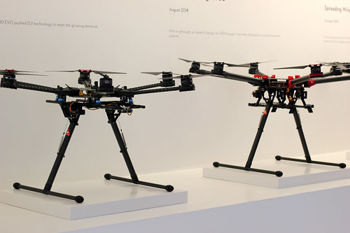 """Hexacopters with """"wings"""" strong enough for use in search and rescue operations 