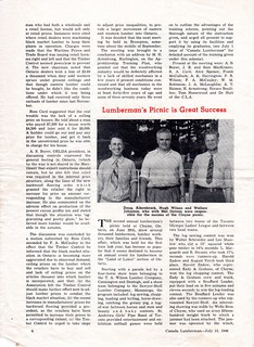 Second Annual Lumbermen's Picnic - 1946, page 1