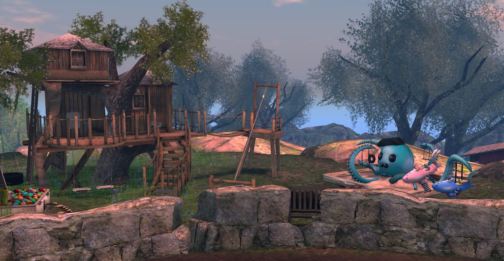 Sky View - The playground