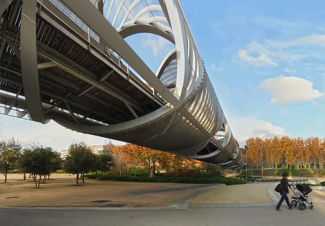 Puente Monumental de Arganzuela, Madrid (2015)