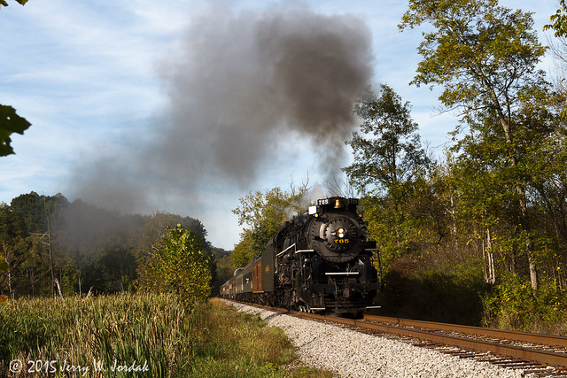 Steam by the marsh