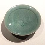 青磁唐草文碗 / Bowl, Celadon glaze with arabesque design