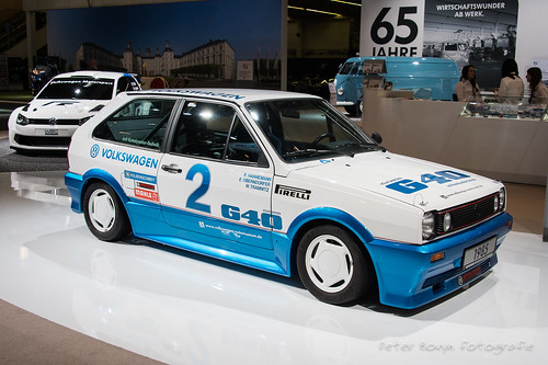 """Volkswagen Polo G40 """"Weltrekord"""" - 1985 