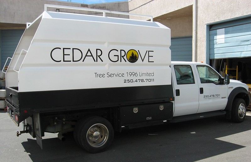 Cedar Grove vehicle graphics