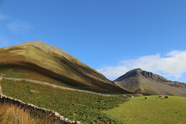 Kirk Fell & Great Gable in the background