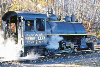 Pioneer Tunnel Coal Mine # 2 narrow-gauge steam locomotive (Vulcan 0-4-0T) 1