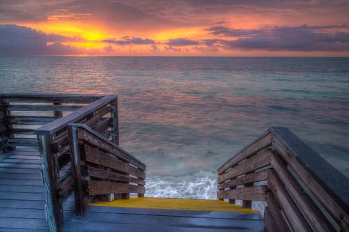 sunrise keys florida steps hdr bahiahondastatepark