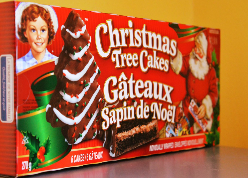 Little Debbie Christmas Tree Cakes What S Christmas Flickr