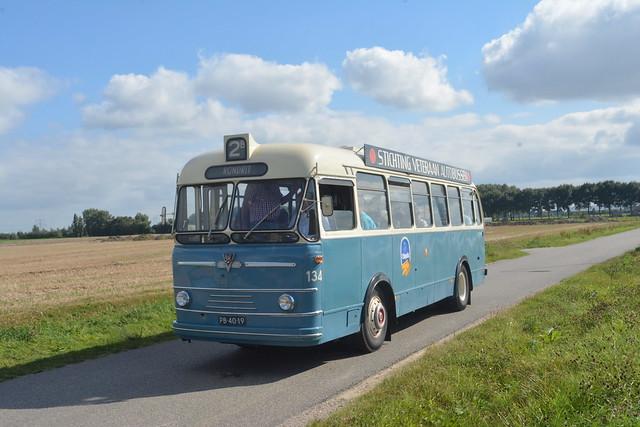 SVA museumbus GEVU-134 Strijen Broekseweg