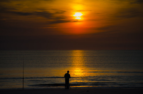 ocean beach water sunrise landscape dawn coast fishing fisherman nikon florida palm shore atlanticocean