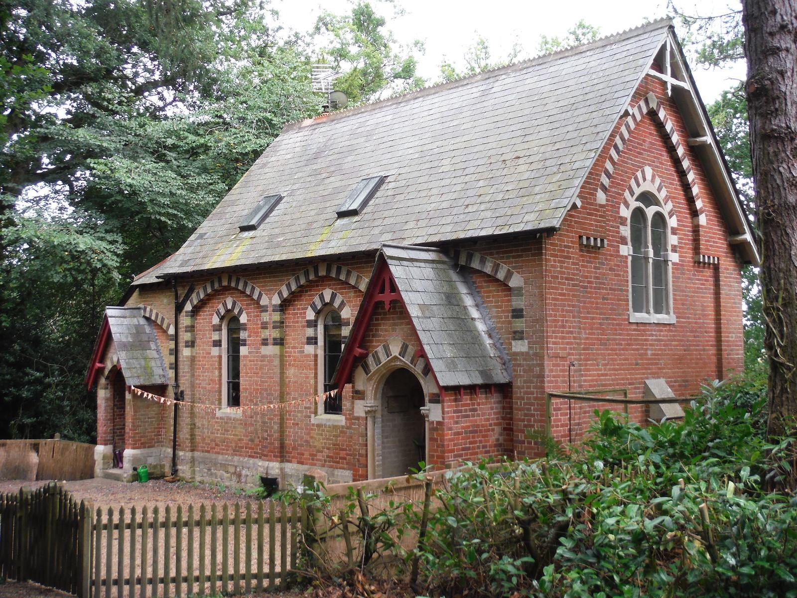 Converted Chapel, Ridge hamlet SWC Walk 248 Tisbury Circular via Hindon