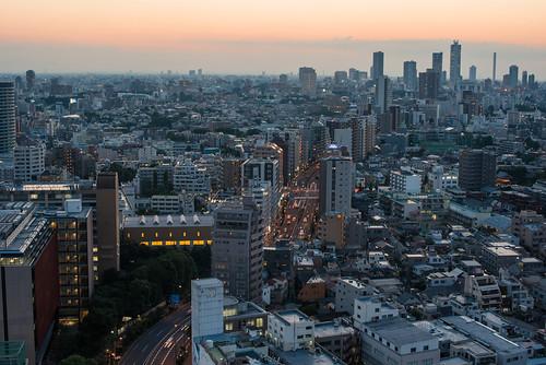 sunset japan landscape 50mm tokyo nikon cityscape dusk f14 d750 東京 nikkor bunkyo シビックセンター chicaco11