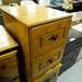 Pine 2 drawer locker
