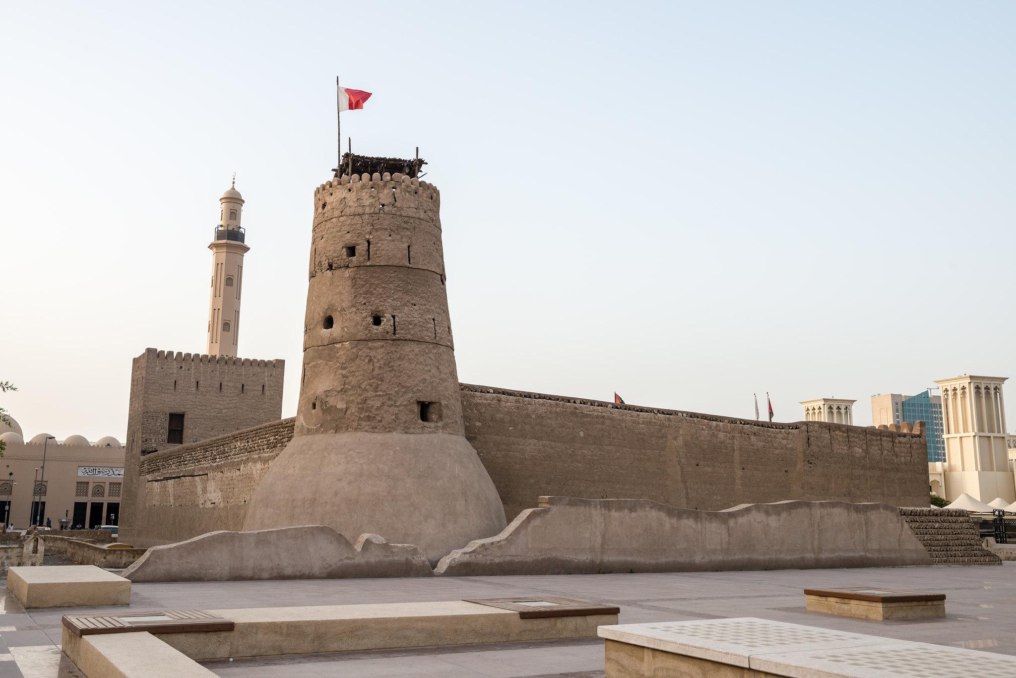 Al Fahidi Fort, photo by Álvaro Vega Sánchez.
