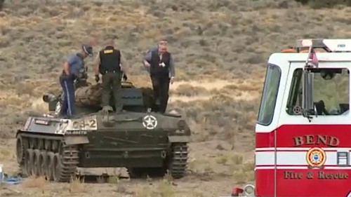 Dos fallecidos en tanque SGM