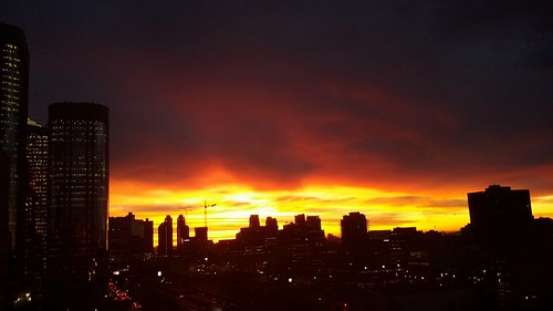 canada calgary clouds downtown alberta friday nofilter morningsunshine sunriseview october30th2015 fall2015sunrise