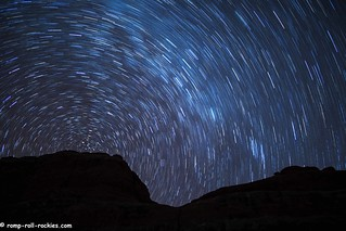 Star Trails over K's Rock
