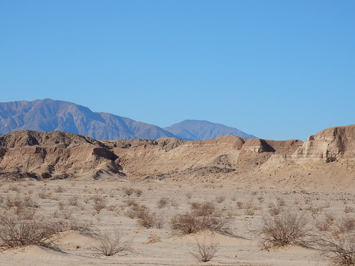 Anza-Borrego Desert SP - Badlands - 1