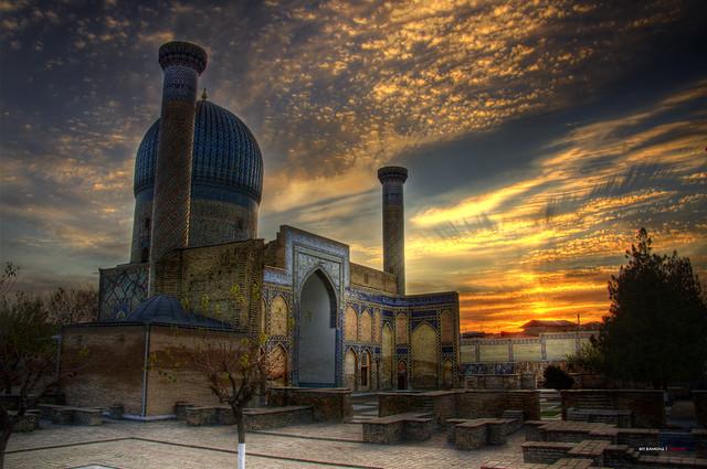 Mausoleo de Gur-e Amir, Samarkanda