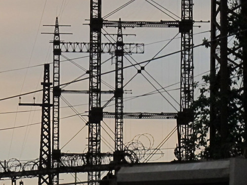electrical towers - Bronx, NY  Aug. 2013 | by rik-shaw 黄包车