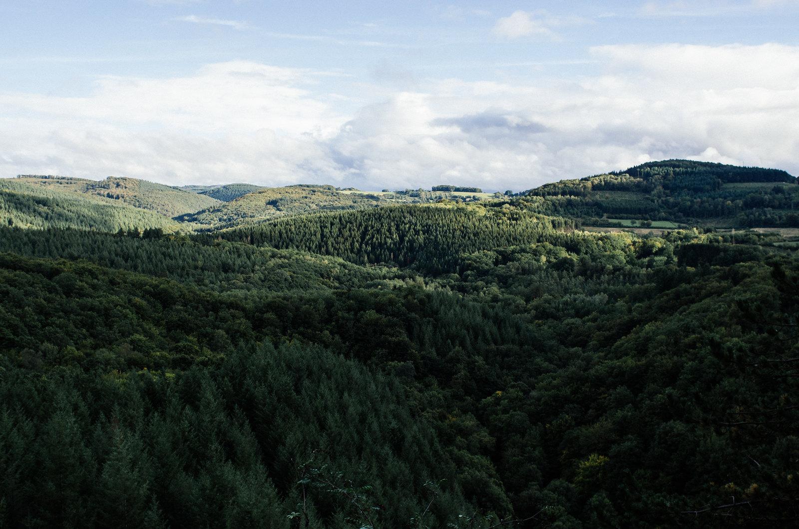 Grande randonnée en France - La grande traversée du Morvan