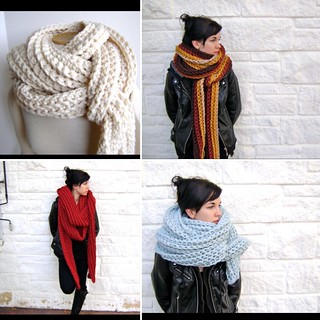 🍁🍃🍂 Super scarf crocheting with @lionbrandyarn •pattern links in my profile•
