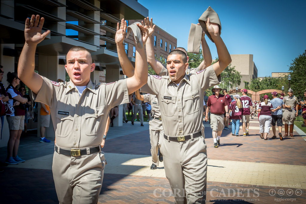 Texas A&M Corps of Cadets Gameday Tennessee 2016