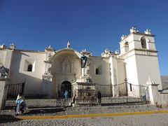 Église de l'Immaculée Conception, Yanque, Canyon de Colca (Pérou)
