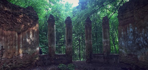 panorama chapel panoramic belarus ruined sula