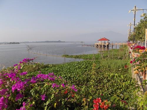 thailand landscapes lakes phayao