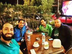 أول صورة في #٢٠١٦ وطبعاً واضحة الأجواء الاحتفالية مع ثلاثة من أعز الأصدقاء ???  #HappyNewYear #2016