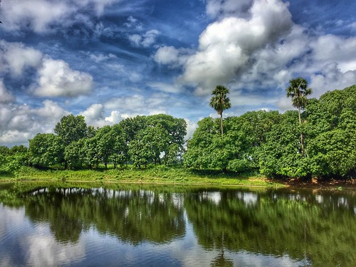 rural scenery landscape hdr chakdighi bengal interestingness iphone6 snapped sirwatkyn india