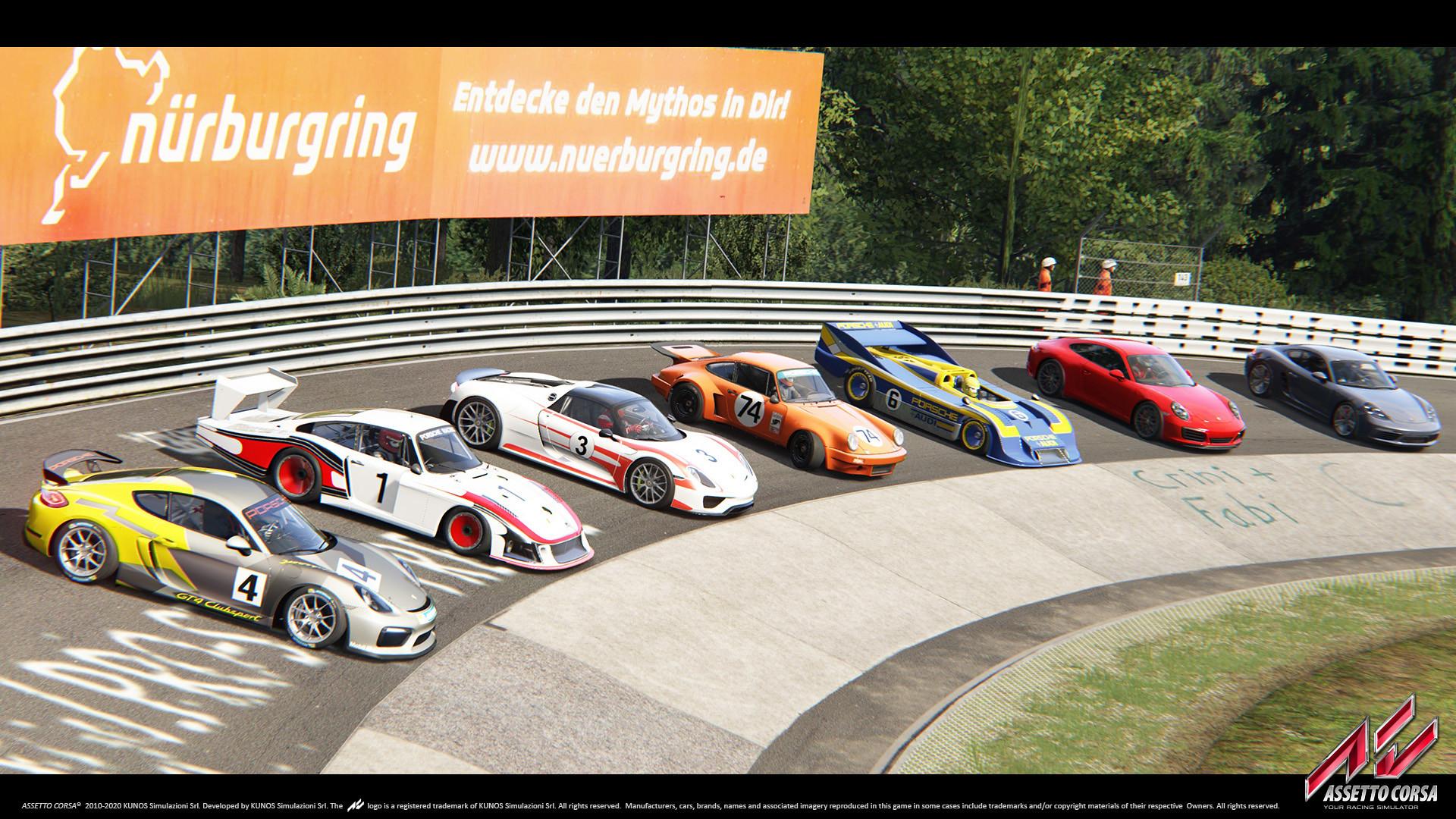Porsche DLC 1