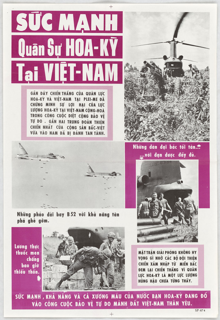 Us Military Power In Vietnam 306 Sp 1 874 Research Archive Flickr